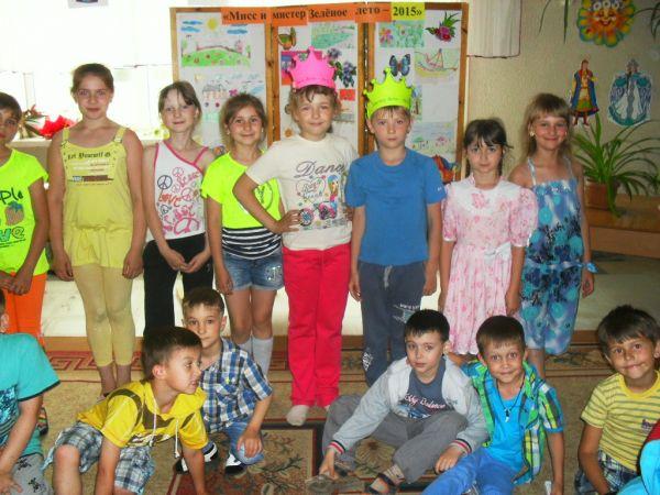 Конкурс веселые нотки в лагере