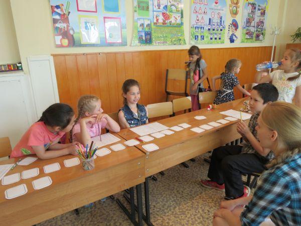 тренинг знакомство в пришкольном лагере
