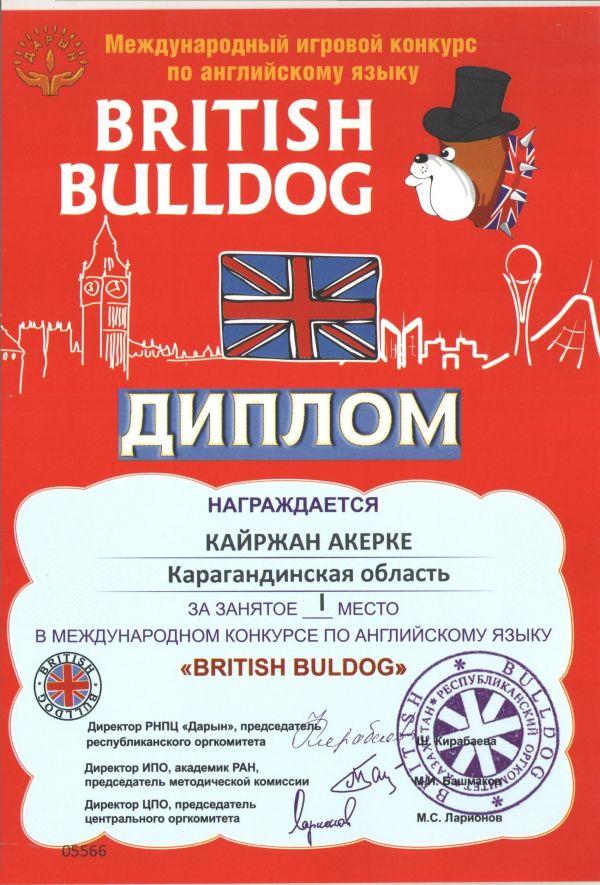 British bulldog международный игровой конкурс