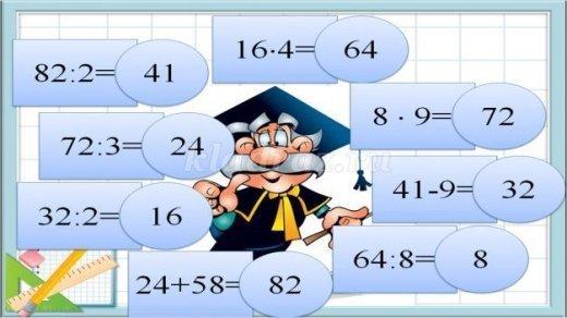 Уроки математики 7 классов ответы