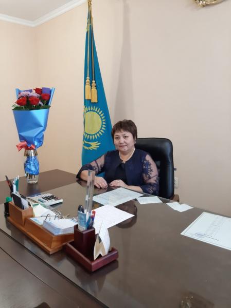 Директор Амирова Гульмира Алпысбаевна
